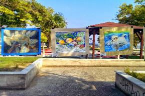 выставка картин в Греции