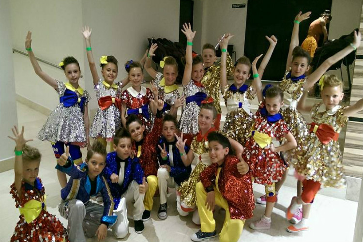 Танцевальный конкурс друзья болгарии 2017
