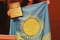 Участница фестиваля из Казахстана