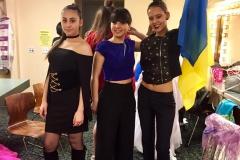 Участники детского фестиваля из Украины, Грузии и США